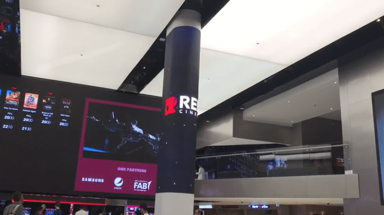 Column led display thriller