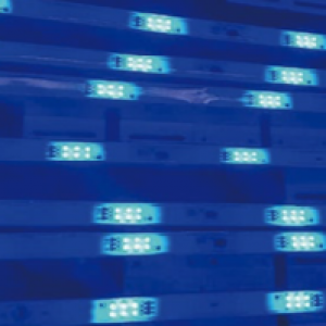 M6 LED STRIP MESH bleu