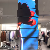 Column LED destructued store