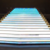 Display LED stairs