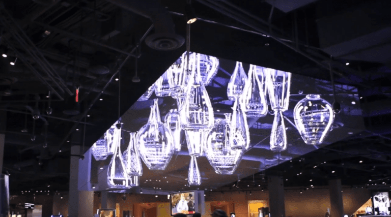 LED 3D screen las vegas