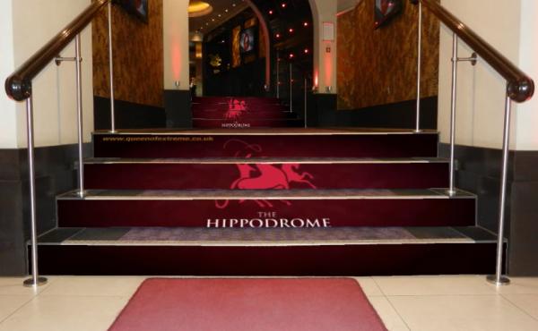 LED stairs Hippodrome