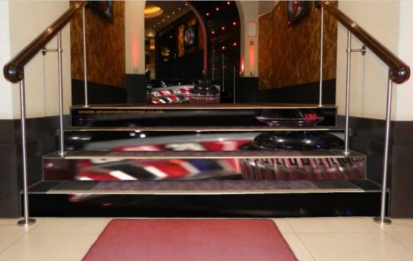 LED stairs casino