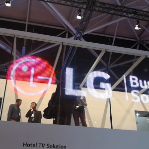 LG LED display