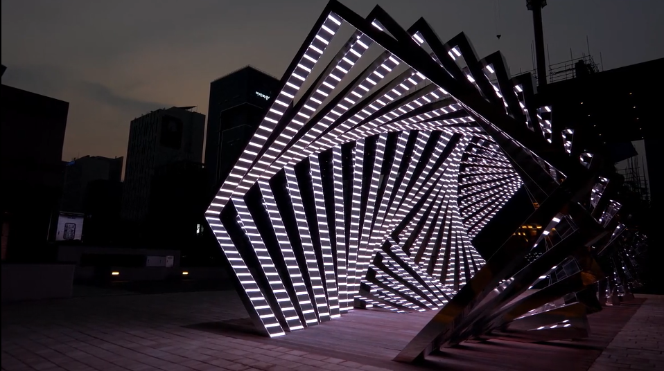 Outdoor parametric rectangle