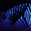Parametric outdoor blue