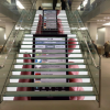 Stairs LED design display iphone
