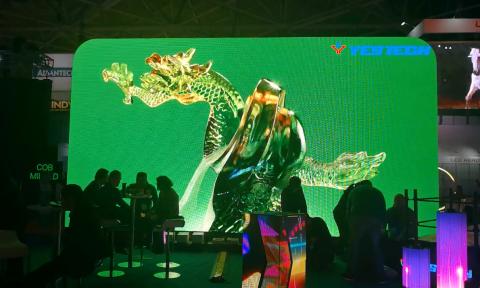 Status dragon display screen LED