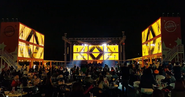 Festival and music stage led screen display