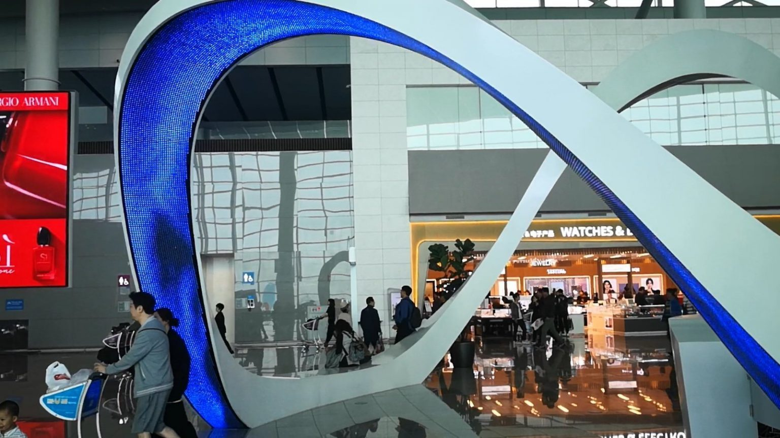 LED arch flexible LED curved screen display
