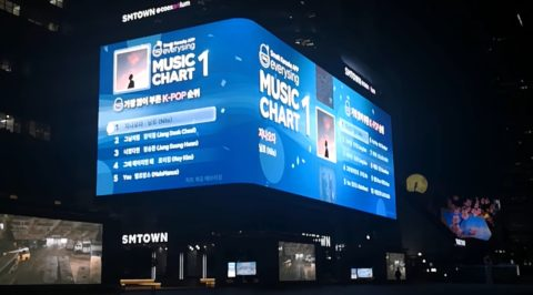 Outdoor LED facade building screen display