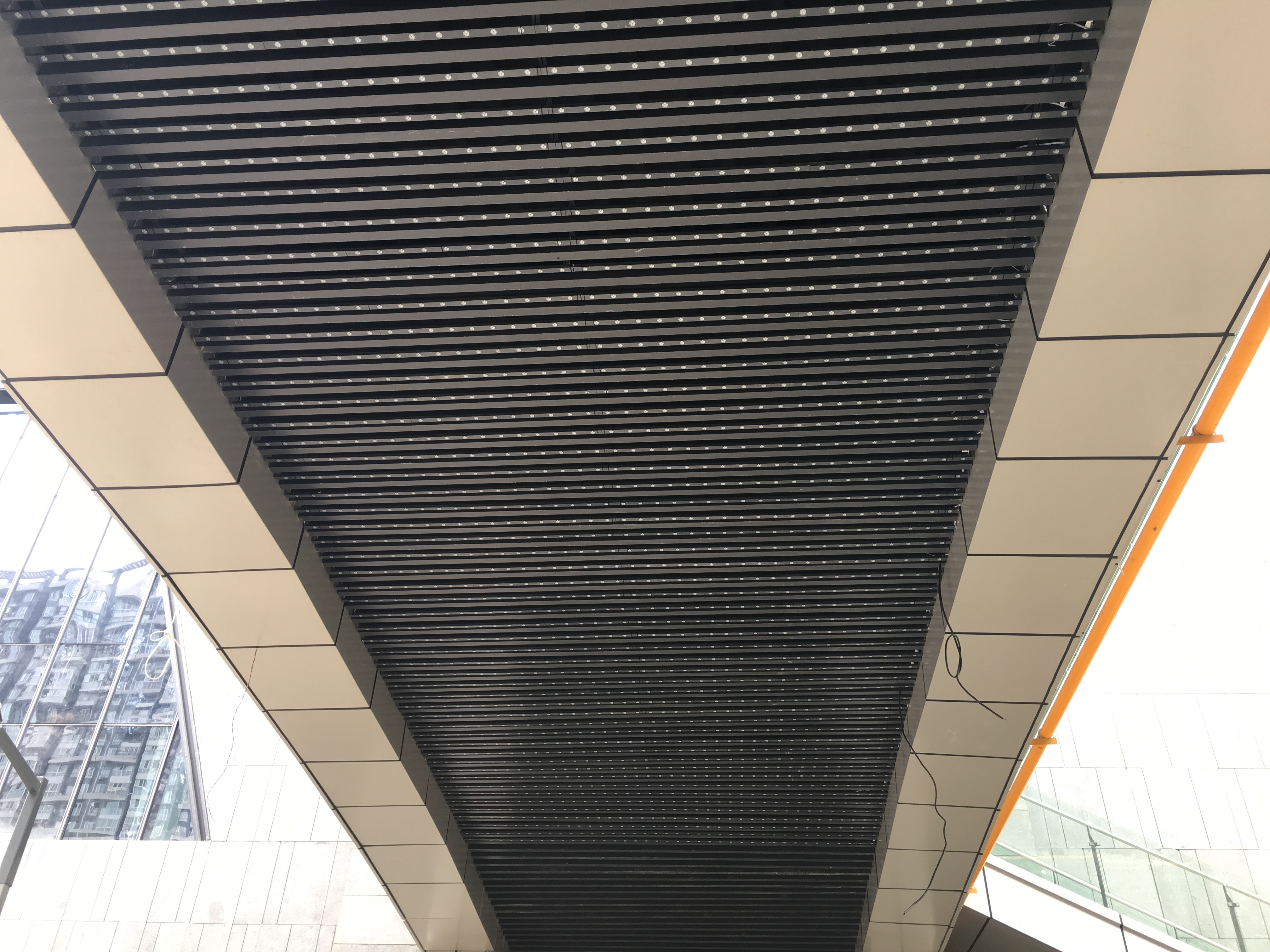 Mesh LED ceiling product