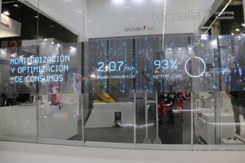 Display LED per schermo adesivo trasparente