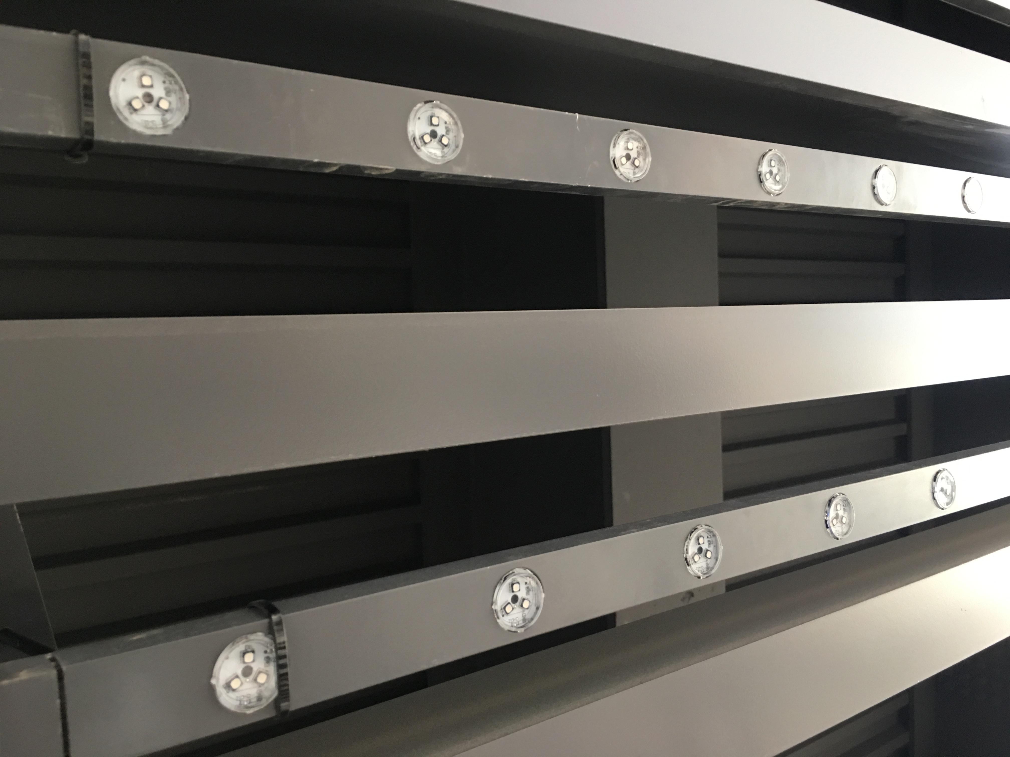 Zoom mesh LED ceiling