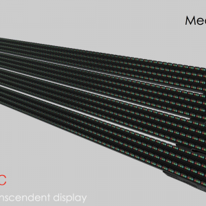 Facade Mesh LED écran T serie pitch 13-16-20