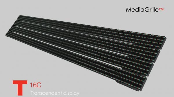 Фасадные сетки светодиодный экран T серия шаг 13-16-20