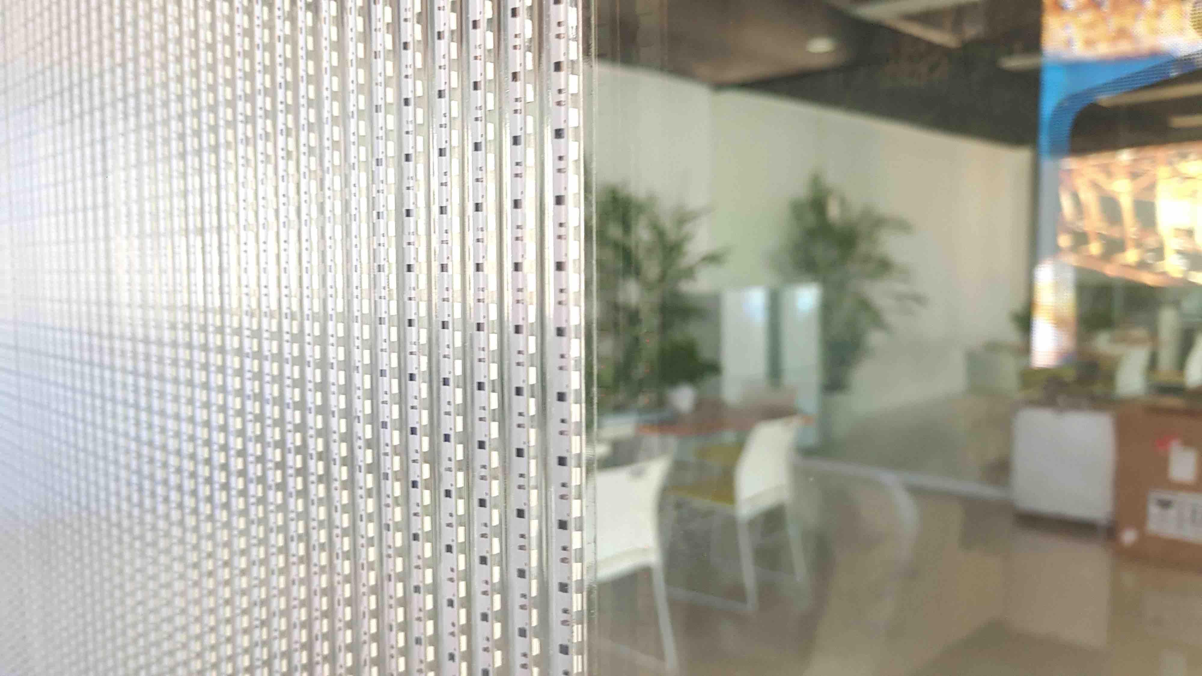 Rues Communication innovantes adhésifs - affichage LED-