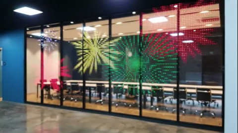 Innovative Adhesives - LED display