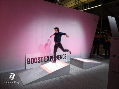 The 'Boost Experience' – Branding through Interactive Technology