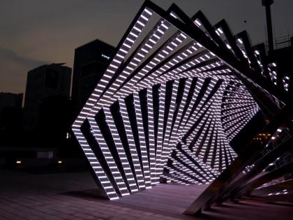 Арка LED: Красота арки