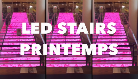 Printemps, Printemps, New LED Stairs