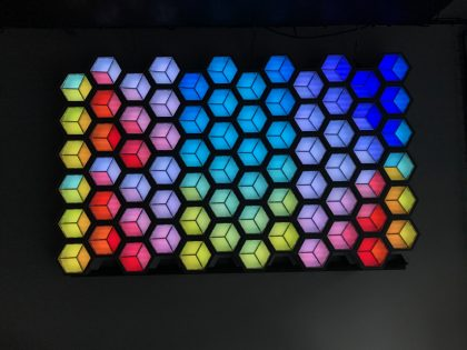 The Marvel of Honeycomb LED Lights