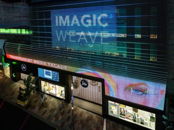 full media facade Imagic weave_julia-center Andorra