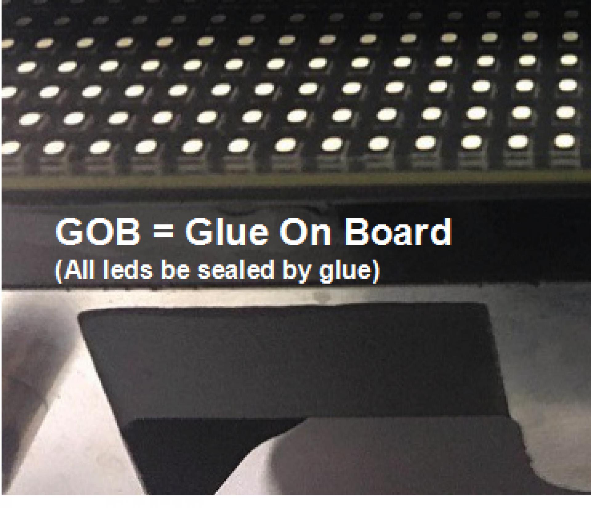 Glue Technology: GOB Glue on Board
