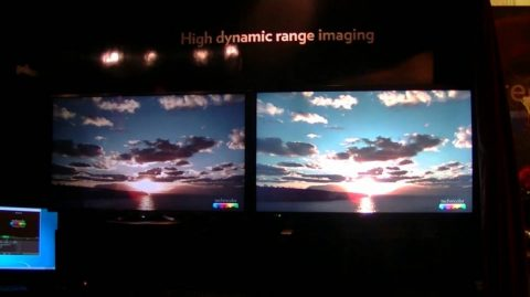 HDR screen display