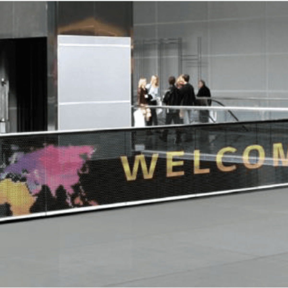 transparent LED film welcome