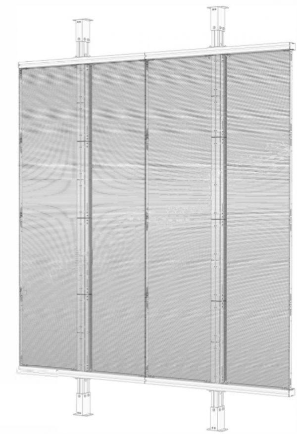 NJ trasparent LED display 2