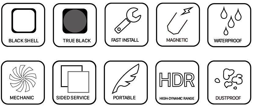 Mecanus Standard LED Outdoor features