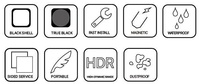 Reaper Standard LED Outdoor parameters