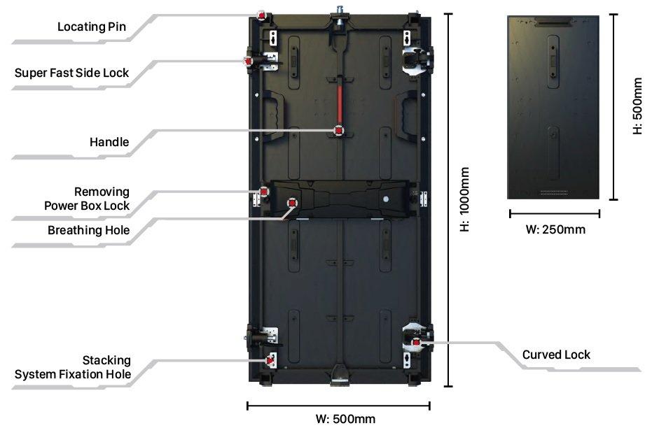 Titan Standard LED Outdoor diecast aluminium