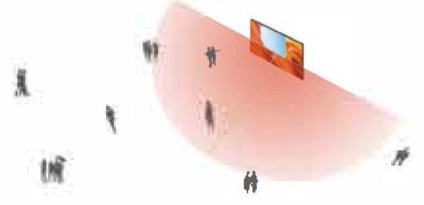 Jade Screen standard transparent LED wider advertising scope