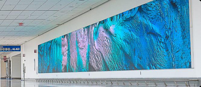 Charlotte-Airport-wall-screen