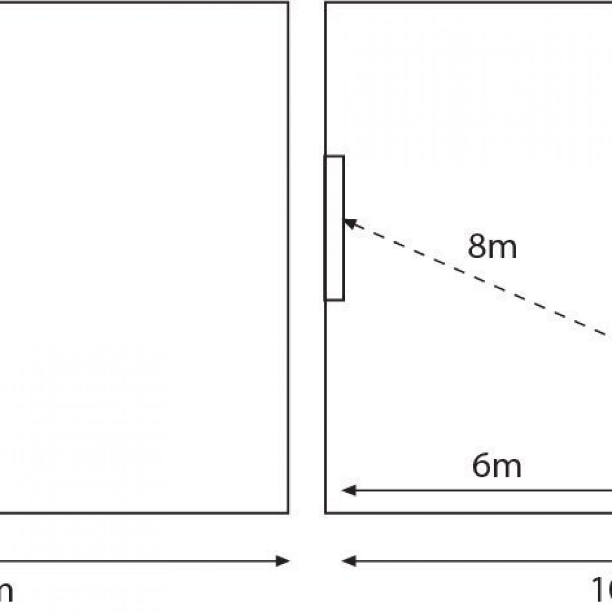 Ci-LED-23 schema angle vision and distance