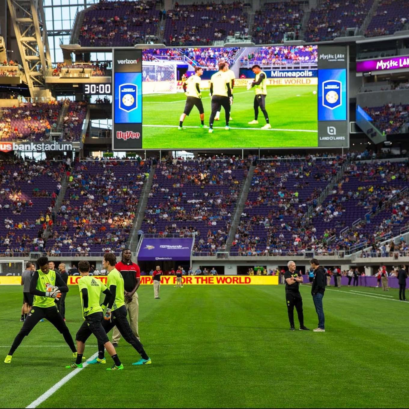 giant led screen stadium