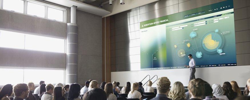 Screen LED higher education university