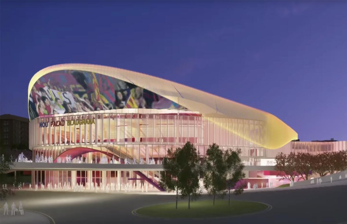 stadium nou palau blaugrana CAO