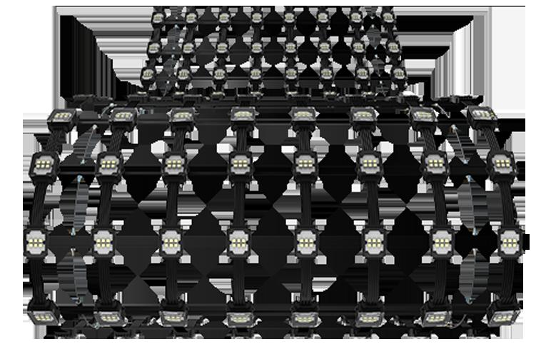 led mesh MJ pro series flexible details