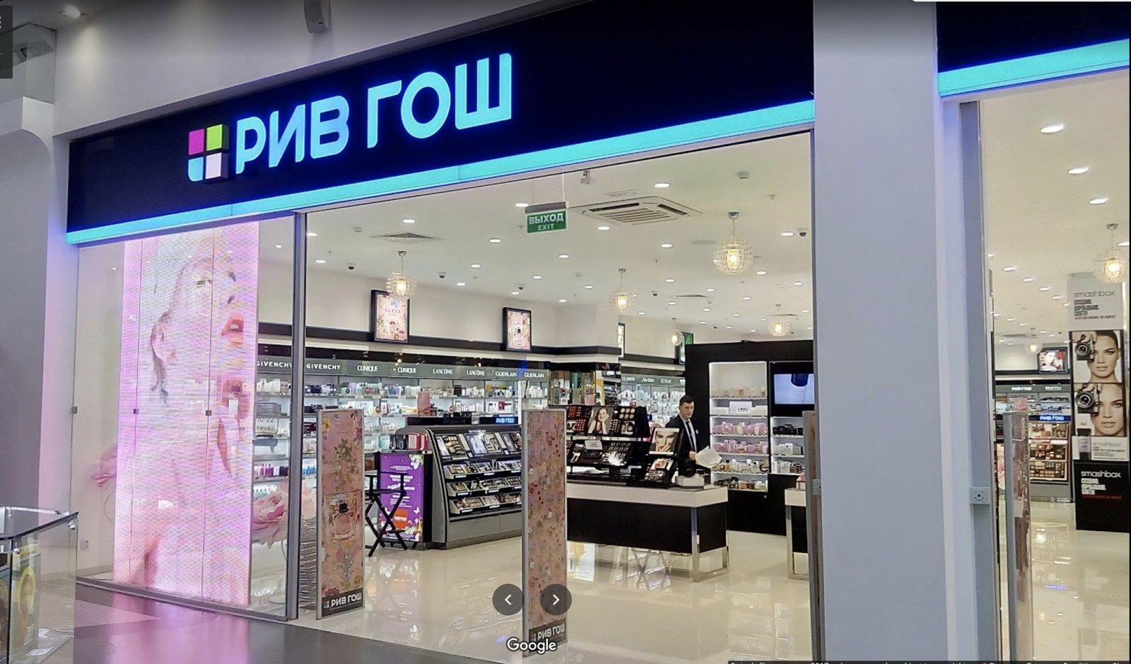 led screen store display POS
