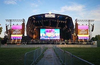 backstage led screen event