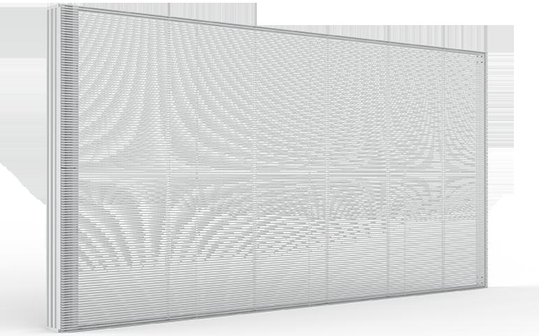 Transparent led screen isky