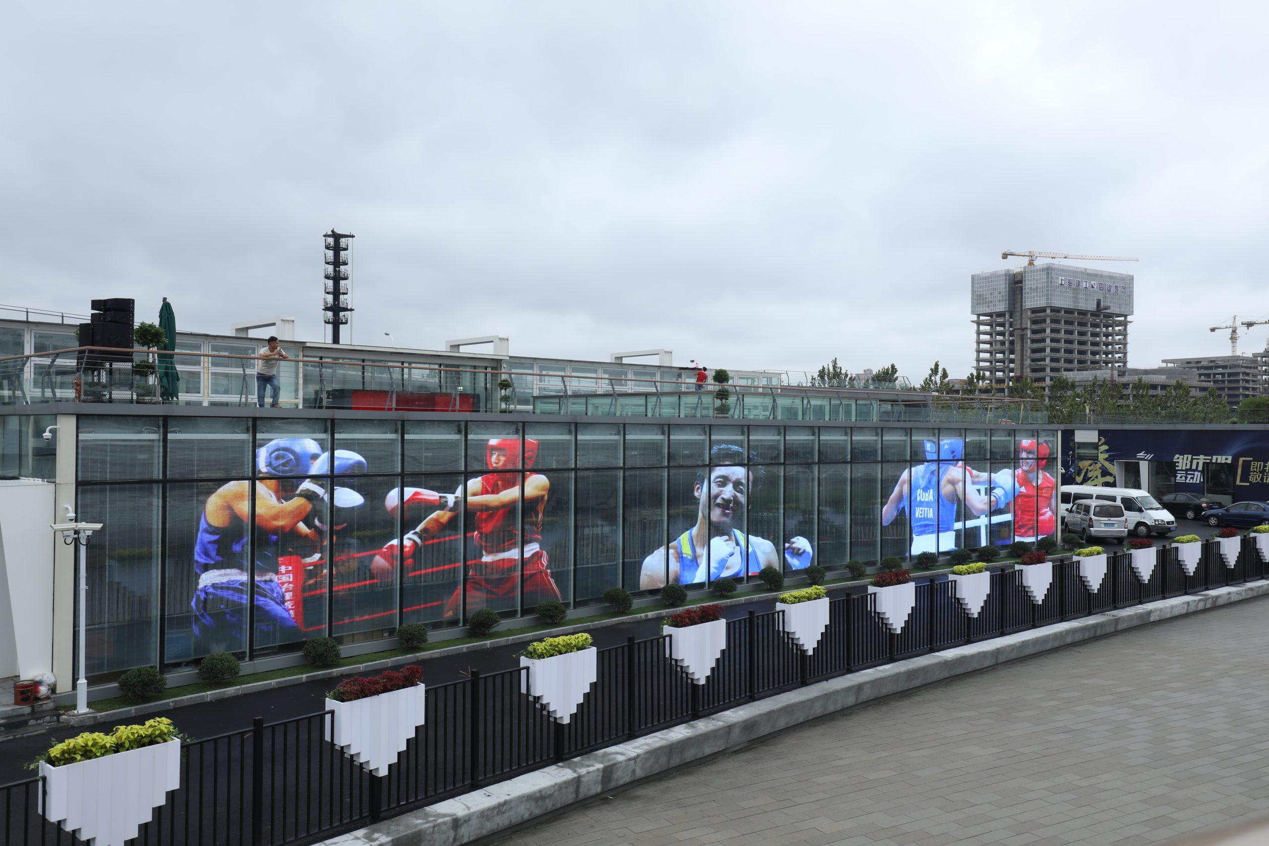 Boxing stadium- Standard transparent LED