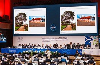 Écran led conference
