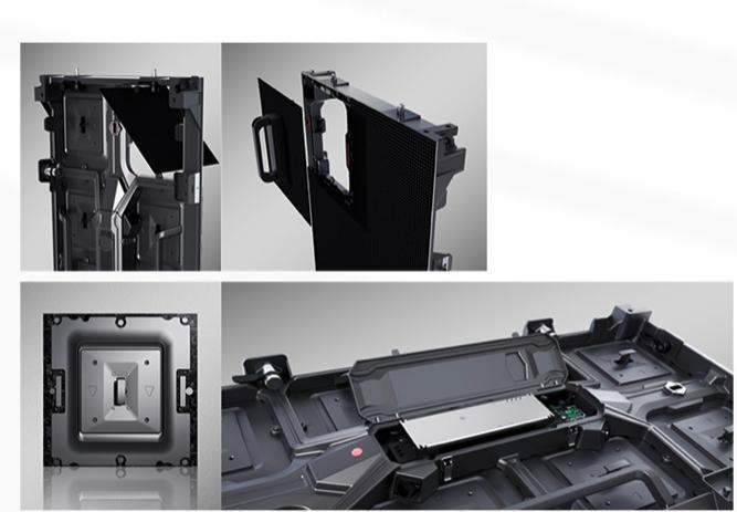 composition affichage écran LED ULF praticité