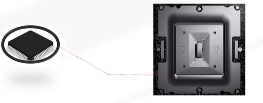 composition affichage dynamique LED module intelligent
