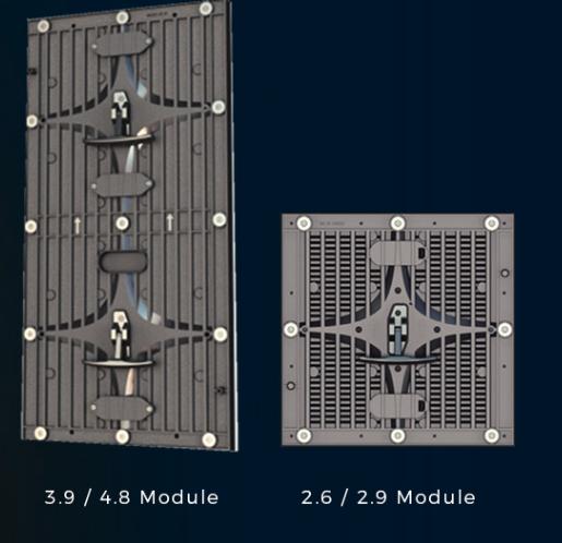 ULS écran LED conception 3.9/4.8 module