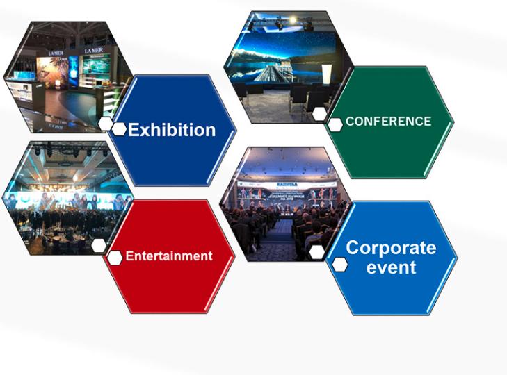 ULS LED conférence-exhibition-entertainment